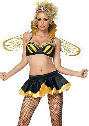 Leg Avenue Women's Sexy Queen Bee Costume Sexy Bee Costumes For Women