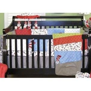 Trend Lab Cat in the Hat Crib Set