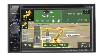 """Clarion NX501 Système de navigation GPS (écran 6,2"""", 16:9, Continent)"""