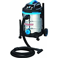 Channellock Products VS810W.CL Channellock 8 Gallon Stainless Steel Wet/Dry Vacuum