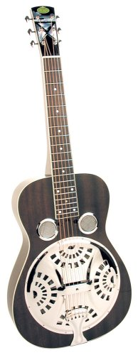 regal black lightning squareneck dobro guitar black used guitars for sale. Black Bedroom Furniture Sets. Home Design Ideas