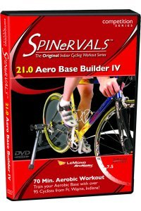 Spinervals Competition DVD 21.0 - Aero Base Builder 