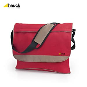 Hauck Abe Changing Bag (Red/ Beige)