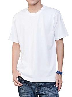(ティーシャツドットエスティー) Tshirt.st 丈夫で着心地がいい 半袖 無地 Tシャツ ホワイト XXL