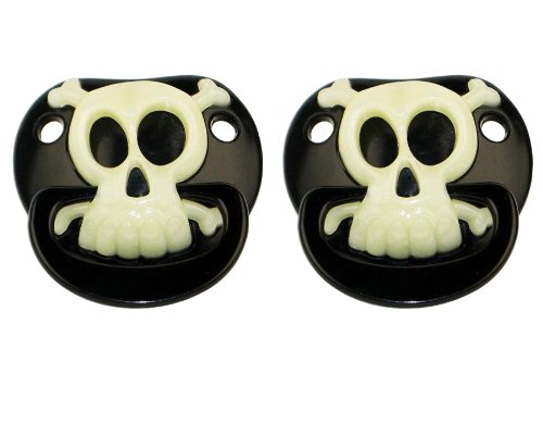 Billy Bob Pirate Pacifier, Set Of 2 front-1064086