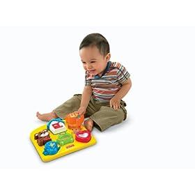 (史低)费雪Fisher-Price Brilliant Basics Activity Puzzle 魔力拼图玩具 $9.99