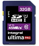 Integral UltimaPro 32GB Class 10 SDHC Memory Card
