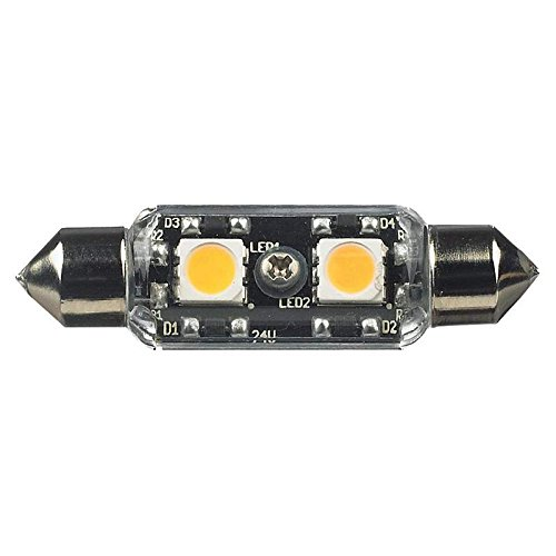 96118S-33 Ambiance Led Frosted Festoon Light Bulb Lamp - 3000K 12V 5-Pack