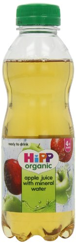 HiPP Organic Stage 1 From 4 Months Apple Juice with Mineral Water 500 ml (Pack of 6)