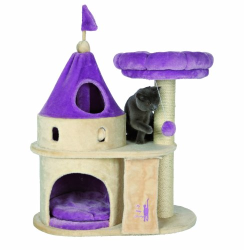 My Kitty Darling Scratching Castle - 90cm Heigh - Floor Area: 70 × 38 cm