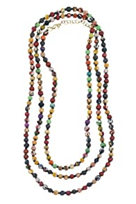World Finds Kantha Bead Long Necklace