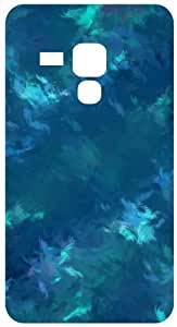 Painted Background Blue White Back Cover Case for Samsung Galaxy S Duos S7562