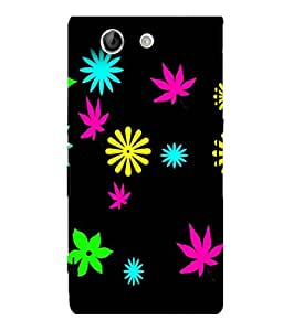 printtech Flower Weed Pattern Back Case Cover for Sony Xperia Z4 Mini::Sony Xperia Z4 Compact