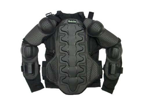 I-volution Skull Motorcycle Motocross Full Body Armor Protector (Medium)