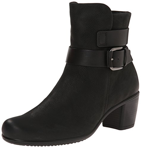 Ecco Footwear Womens Touch 15 Mid Cut Bootie Boot, Black, 39 EU/8-8.5 M US (Ecco Women Shoes Boots compare prices)