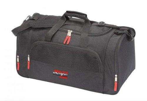 Schwarze Spago- Reisetasche/ Sporttasche - ideal