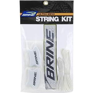Buy Brine Lacrosse Ultra Mesh String Kit (White) by Brine