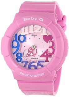 buy Casio Women'S Bga-131-4B3Cr Baby-G Pink Stainless Steel Watch