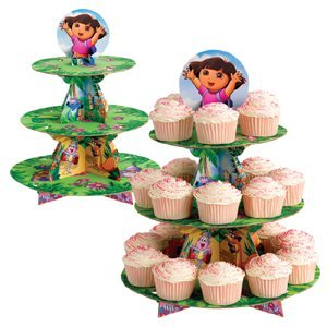 Dora Explorer Swirl Decorations 12ct 2