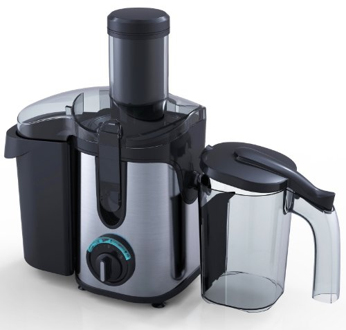 Compact Powerful 2.0L Whole Fruit Juicer with 800W Power New 2012 Design + A Free Cleaning Brush from Charles Jacobs