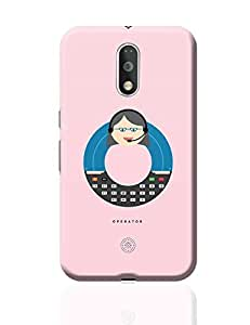 PosterGuy Moto G4 Plus Covers & Cases - Alphabet People - Operator   Designed by: The Design Caravan