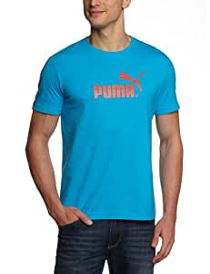 Puma Large Logo Foundation T-Shirt homme Malibu Blue S