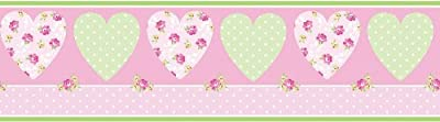 Fine Decor Pretty Flower Childrens Kids Wallpaper Border from Fine Decor