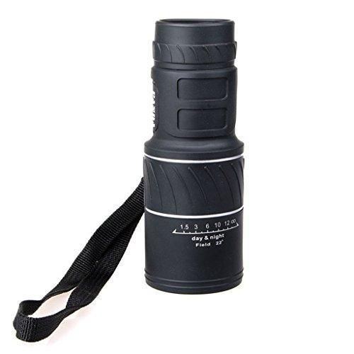 Briday 16 x 52 Dual Focus télescope monoculaire pour oiseaux/chasse/camping/randonnée/armoring