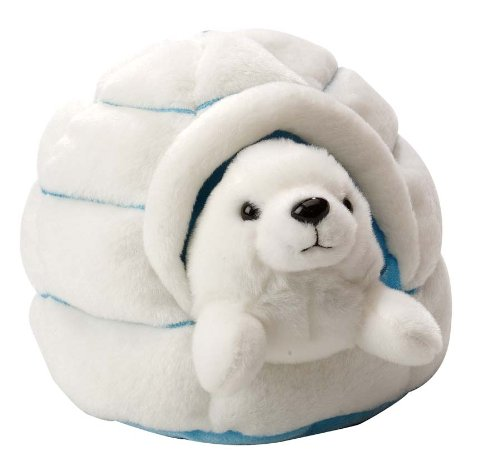 Igloo with Harp Seal