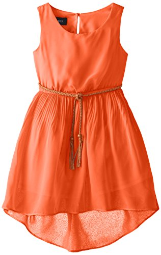 Amy Byer Little Girls' Sleeveless Pleated Dress