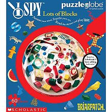 I Spy Puzzleglobe - Lots of Blocks: 60 Pcs - 1