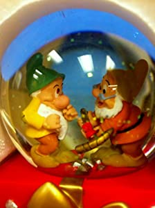 Disney Snow White, the Seven Dwarves Midi Globe Holiday Gift from disney