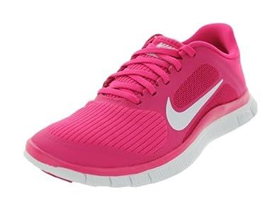 Nike Women's Free 4.0 V3 Pink Force/White Running Shoes 11 Women US
