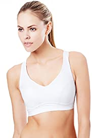 High Impact Padded Eco Sports B-G Crop Top