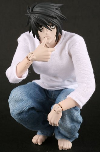 Death Note - L Lawliet 12 inch RAH Figure