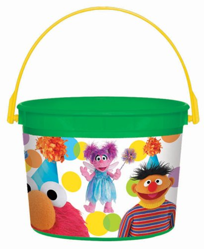 Amscan Mens Sesame Street Party Favor Container