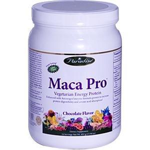 Paradise Herbs Maca Jusqu'à Protéines en