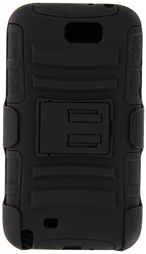 Generic Rugged Impact Armor Hybrid Hard Case Cover & Belt Clip Holster Kickstand for Samsung Galaxy Note 2 N7100 Black (Galaxy Note 2 Cases With Clip compare prices)