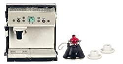 Dollhouse Miniature 1:12 Scale Espresso Coffee Machine with Coffee #G8216 by AZTEC IMPORTS