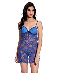 Glam Quotient Blue Babydolls