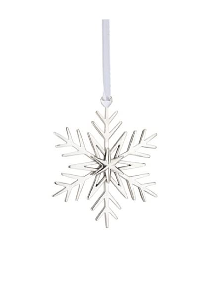 Lunt Sterling Silver 2011 Annual Snowflake Ornament