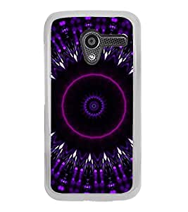 ifasho Animated Pattern design colorful flower in royal style Back Case Cover for Moto X