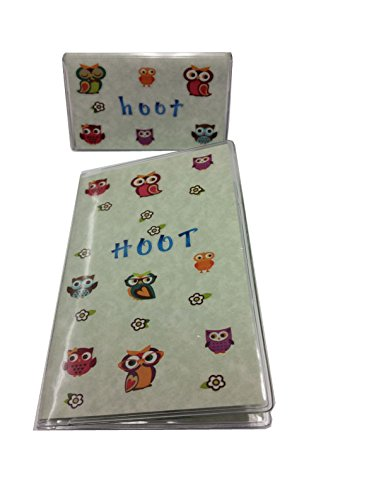 Owl 2 Year (2016-17) Pocket Calendar Planner with Notepad Plus Debit Card Holder with Register (Transaction Register Holder compare prices)