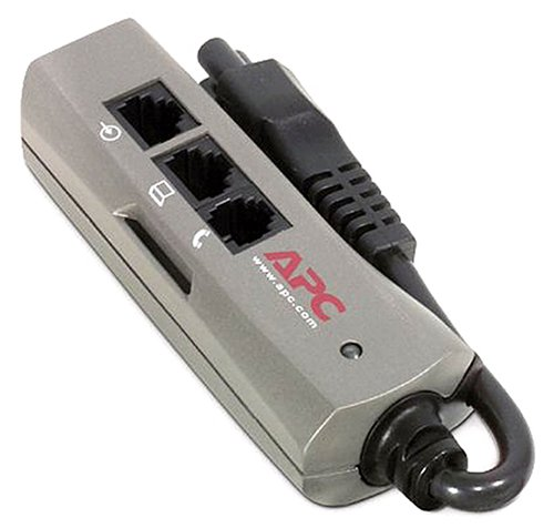 APC PNOTEPROC6 100-240V Surge Protector for Notebook