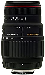 Sigma AF 70-300mm F/4-5.6 DG APO Macro Telephoto Zoom Lens for Canon DSLR Camera