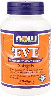 Now Eve - Women's Multivitamin 90 sgels