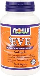 NOW Foods Eve Female Multi Softgel, 90 Softgels
