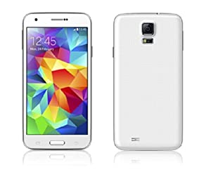 Galaxy Black® S5J5 3G unlocked dual SIM android smart phone (White)