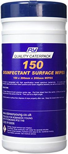 caterpack-30006-wipex-desinfectante-toallitas-de-limpieza-para-azul-150-unidades