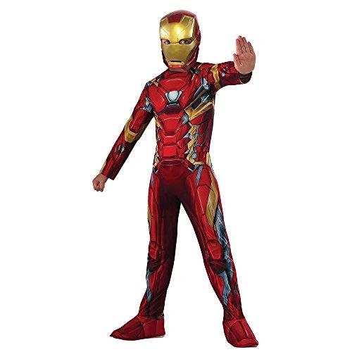 Rubie's Costume Captain America: Civil War Value Iron Man Costume, Small (Iron Man Kids Costume compare prices)